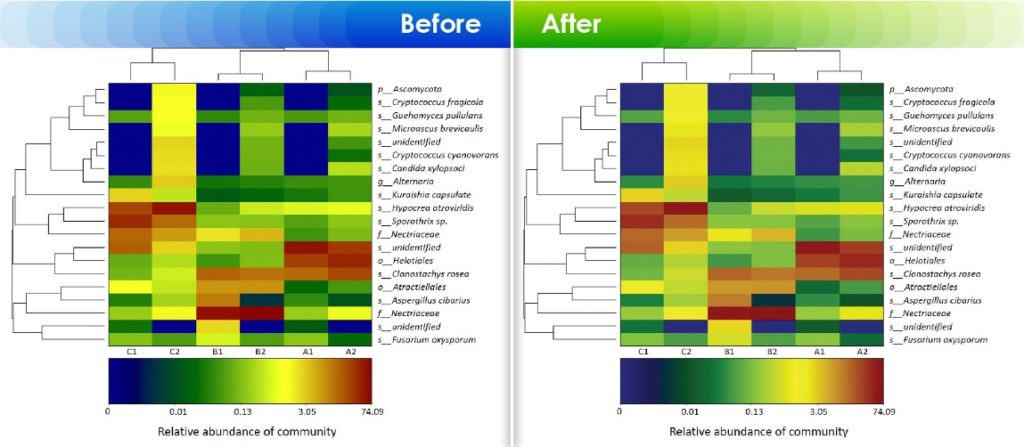 Converting RGB images to CMYK with appropriate florescent color corrections to preserve original color tones