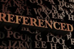 How to reference (Part 1)